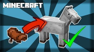 Download lagu MINECRAFT How to Put a Saddle On a Horse 1 14 4 MP3