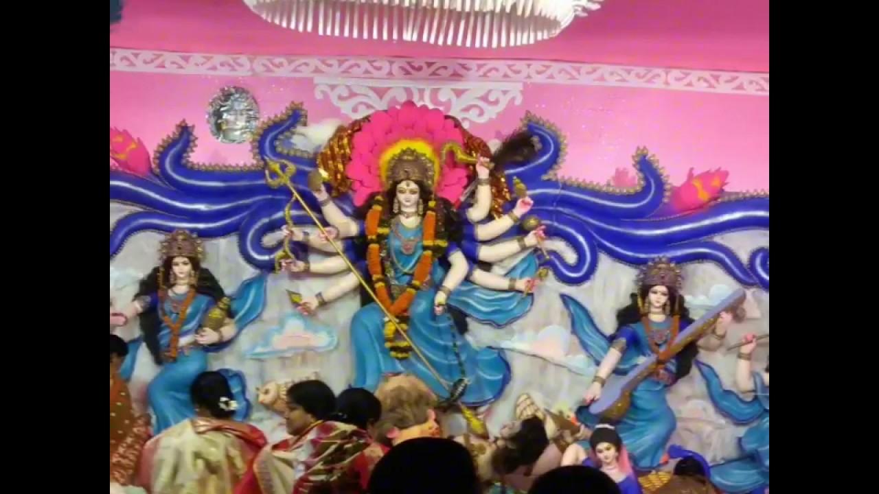 Bhanja Mandap Durga Puja Visarjan On Umerkote Townviral Umerkote