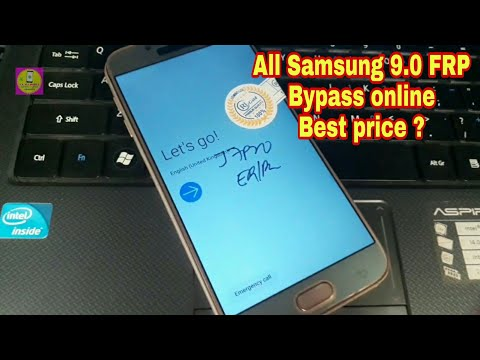 All Samsung 9.0 Letest Model Frp Unlock Online Best Price Only One Click
