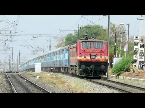 THE WAP4 ATTACK : Offlink BRC WAP4E with Sainagar Shirdi - Vijayawada Express : INDIAN RAILWAYS