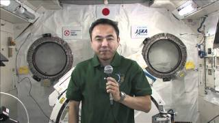 ISS Crew Member Talks with