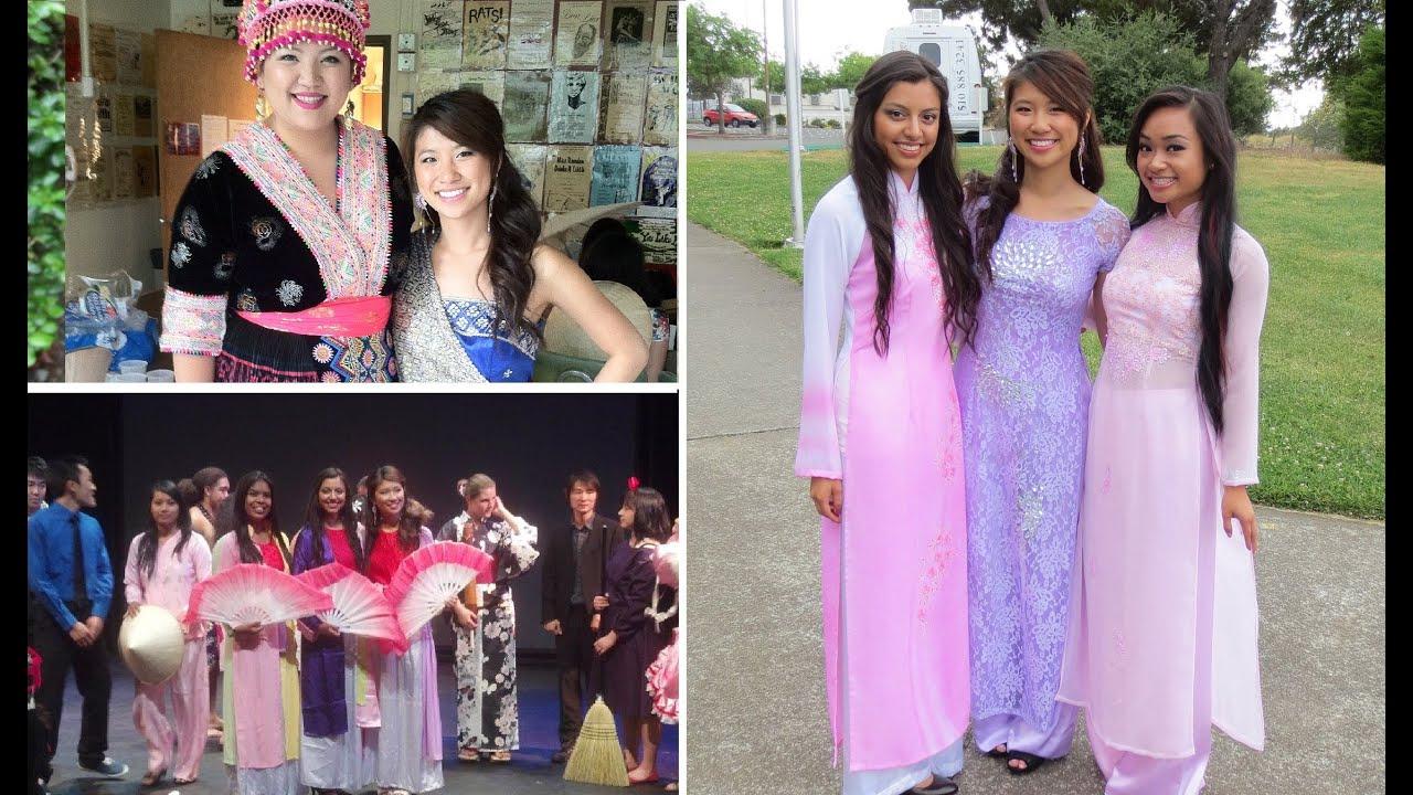 Cultural Fashion Show Vietnamese Hmong Cambodian Etc Youtube