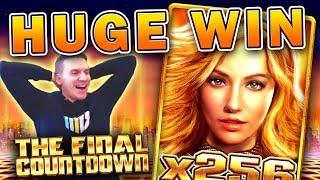 HUGE WIN on Final Countdown Slot - £10 Bet!