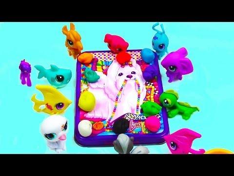 My Little Pony Twilight Sparkle's Art Class Littlest Pet Shop Play Doh MLP Video Play