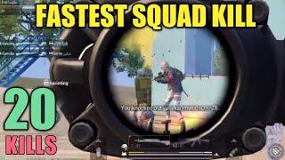 Three Kills In Three Seconds | 20 Kills | PUBG Mobile