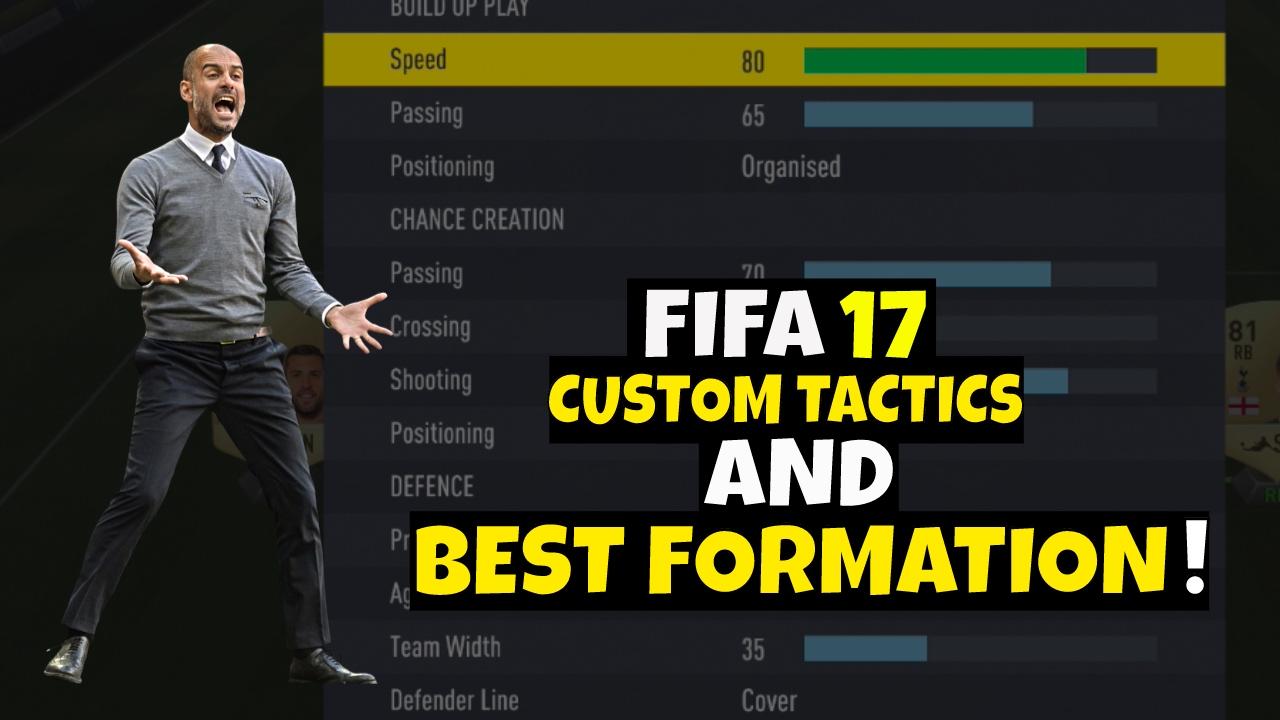 Custom tactics fifa 18