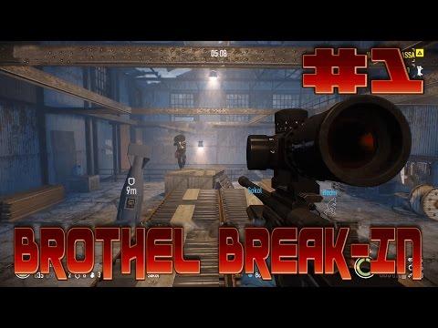 Payday 2 Boiling Point Heist: Brothel Break-In (1080p 60FPS)