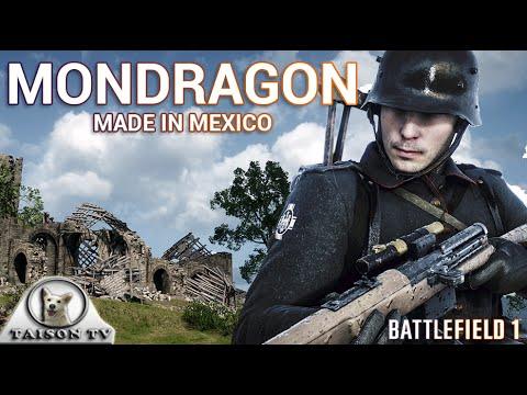 Battlefield 1 El Fusil Mexicano Mondragón Precisión y Fiabilidad