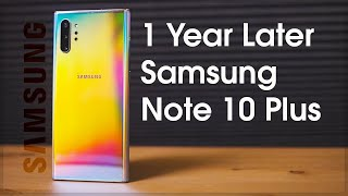 Galaxy Note 10 Plus Review One Year Later and STILL KING