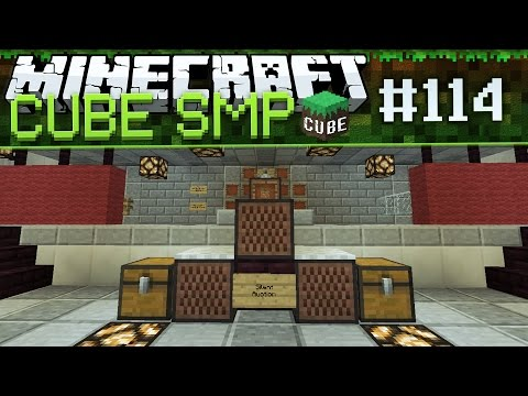 Minecraft Cube SMP: First Cube Auction! - Ep 114