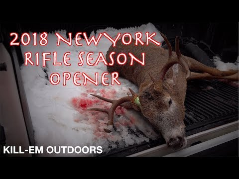 New York Rifle Season Opener 2018