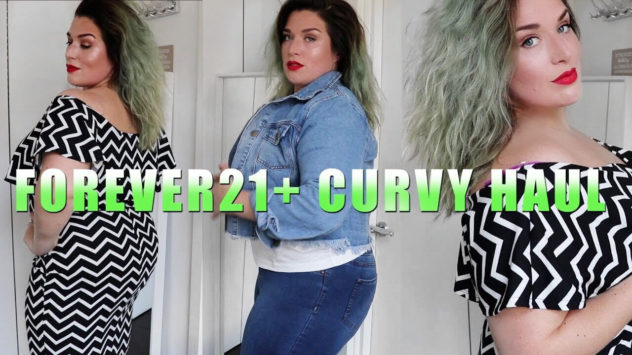 7cde3cac7c1 FOREVER 21+ CURVY PLUS SIZE HAUL   TRY ON