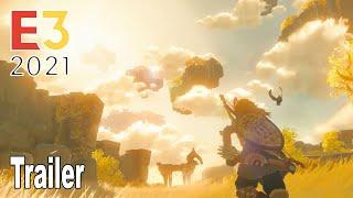 The Legend of Zelda Breath of the Wild 2 - E3 2021 Trailer [HD 1080P]