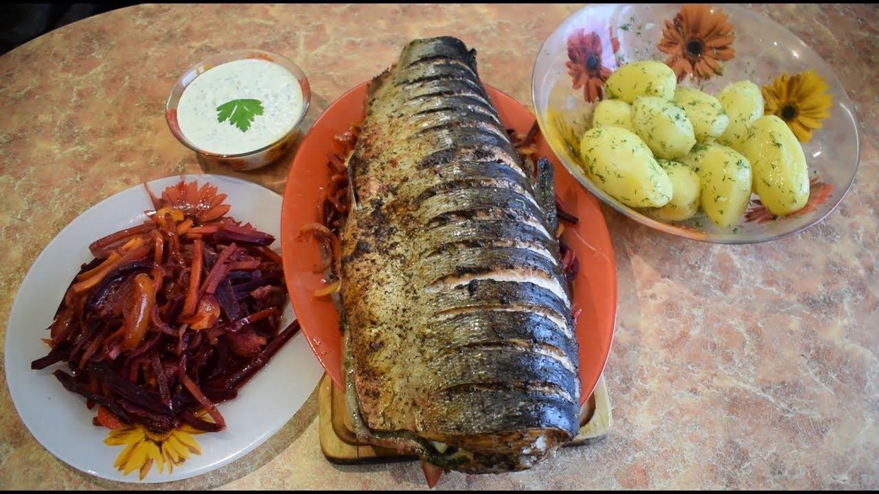 Вкусный ужин / Рыба запечённая в духовке / Соус к рыбе