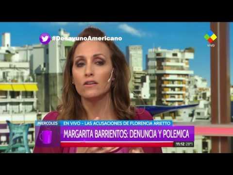 Flor Arietto pateó el tablero contra Margarita Barrientos