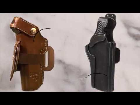 Galco's Ironhide and Wraith 2 holsters at SHOT 2017