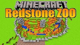 Minecraft Redstone Zoo #02: Eisbärengehege Mit TNT Sprengen!