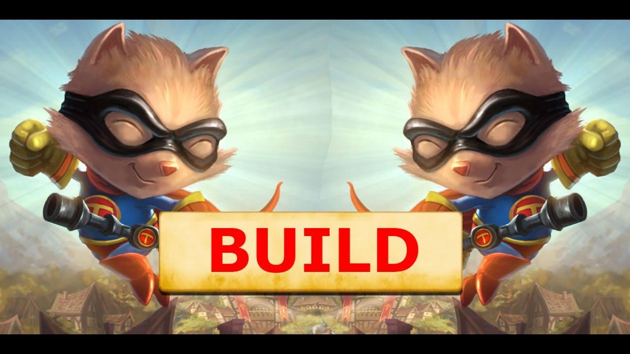 Teemo Top Build S