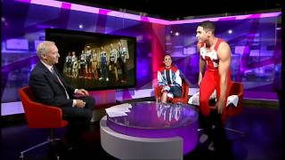 Olympic and Paralympic kits revealed: Louis Smith and Stef Reid