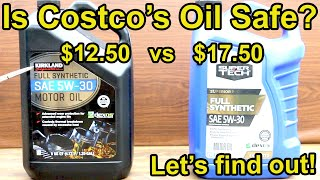 Is Costco's Kirkland Motor Oil Safe for Your Car?  Let's find out!  SuperTech Synthetic vs Kirkland