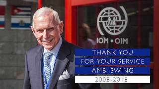 DG William L Swing Farewell Video From IOM