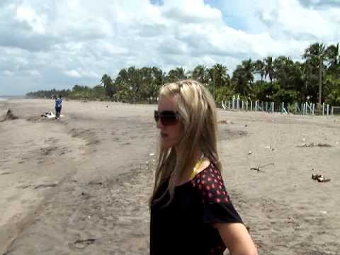 Poneloya Beach In Northwestern Nicaragua