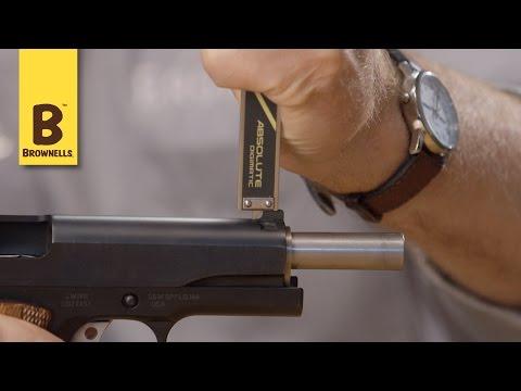 Quick Tip:  Measuring Pistol Sight Height.