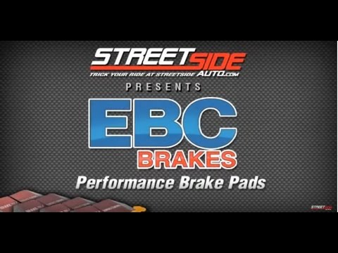 Which EBC Brake Pads To Use?  -- StreetSideAuto.com Reviews EBC Brake Pads By Color