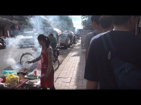 라오스 여행 LAOS(4K)_vientian, Vang Vien, Luang Prabang