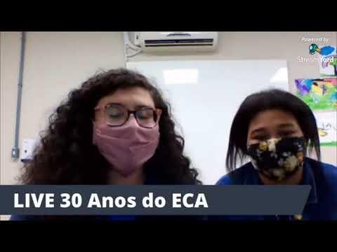 Live sobre os 30 anos do ECA - Os Direitos Por Quem Tem Direito