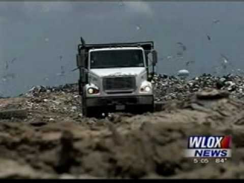 BP Oil Waste Being Dumped at Landfill in Mississippi