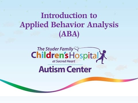 Autism Center Introduction To Applied Behavior Analysis  Youtube