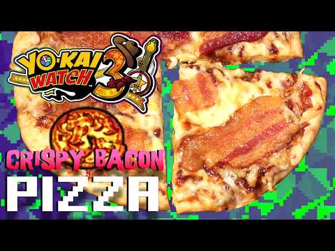 How to Make Crispy Bacon Pizza from Yo-Kai Watch