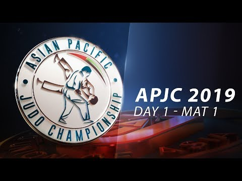Asia-Pacific Judo Championships Seniors 2019 - Day1-Mat1