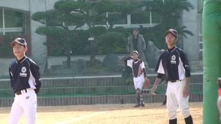 佐中野球部20150215vs石川中学校 06GG