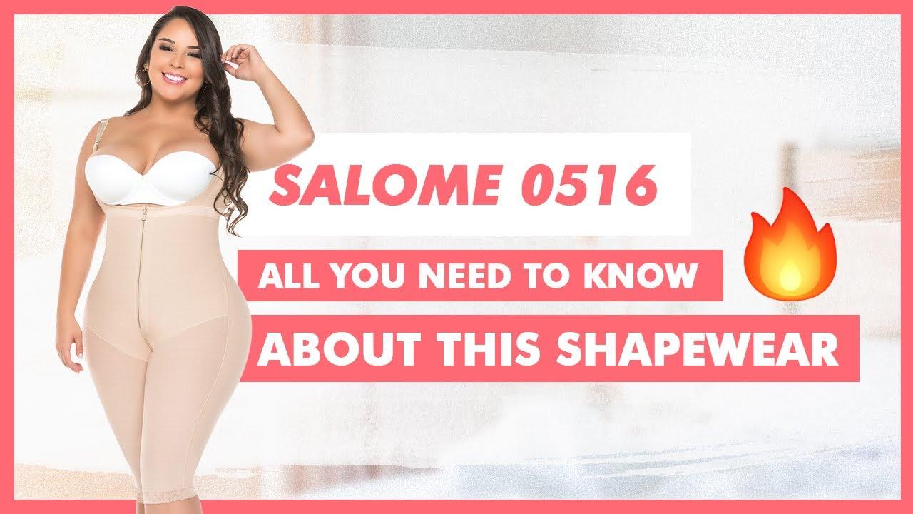 5e25e5280a51d Fajas Salome 0516 Women s Body Shaper Levanta Cola Moldeadora - YouTube