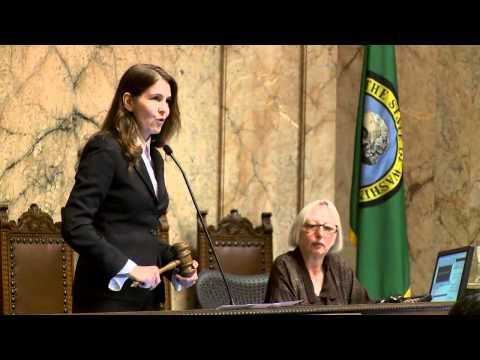 Representative Orwall Presides at the Washington State House of Representatives