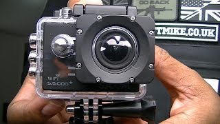 sjcam sj5000 plus wifi unboxing review by airsoft mike not gopro