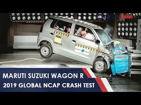 Maruti Suzuki Wagon R Gets 2 Star Crash Test Rating