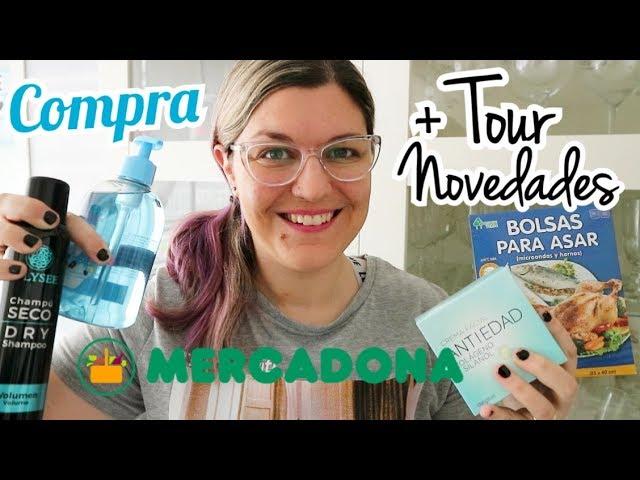 COMPRA SEMANAL MERCADONA | Novedades Mercadona Abril 2019 + Tour Tienda