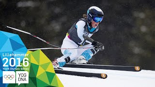 Super-G - River Radamus (USA) wins Men's gold | ​Lillehammer 2016 ​Youth Olympic Games​