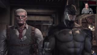 Девушка играет в Batman: Arkham Asylum с вебкой (часть 1)