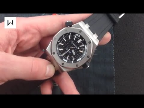 Audemars Piguet Royal Oak Offshore Diver 15703ST Luxury Watch Review