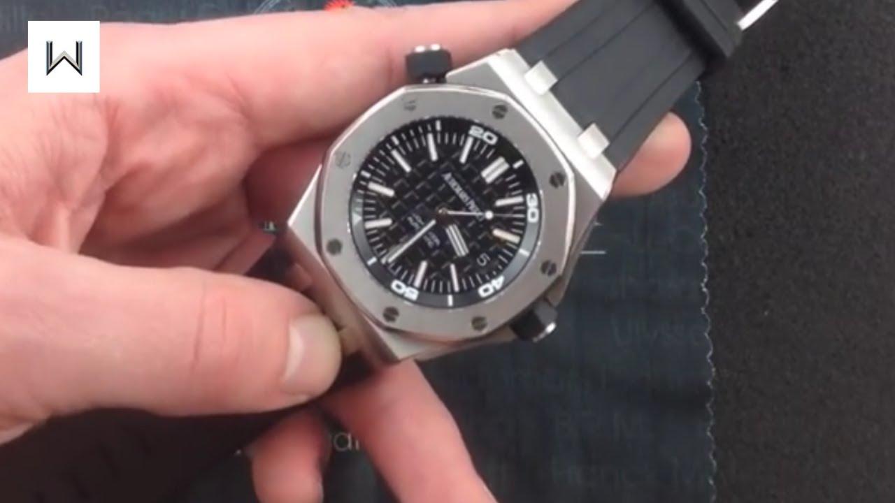 Audemars Piguet Royal Oak Offshore Diver 15703st Luxury Watch Review