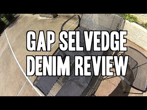 Gap Raw Denim Review - 1969 Japanese Raw Selvedge Denim Review