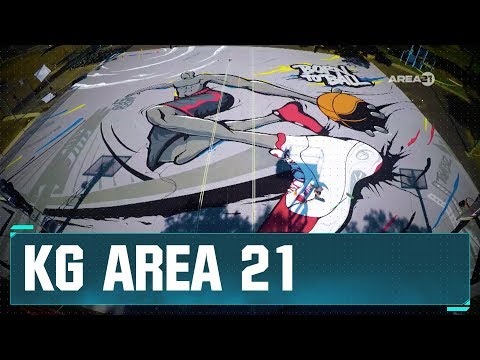 Kevin Garnett Reveals New Paint the Park Court in Oakland | Area 21