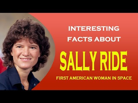 Interesting facts about Sally Ride - First American woman in space
