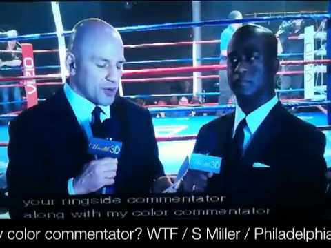 """The brother looks like """"Did he say color commentator? WTF"""" lol"""