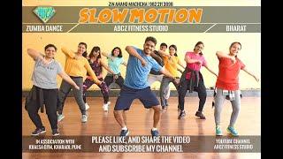 Slow Motion - Bharat | Zumba Workout | Bollywood Zumba | Fitness Dance | ft ZIN Anand Machcha