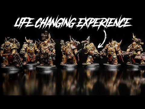 My Desperate Hobby Change – The Plague Marines & Warhammer 40k